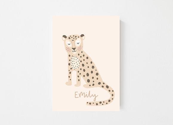 Personalised Leopard