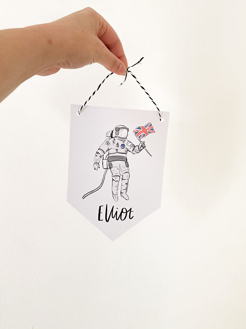 Astronaut- Banner