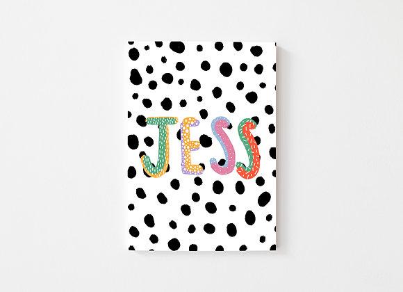 Dalmatian print name