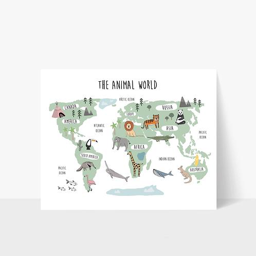 The Animal World - Print