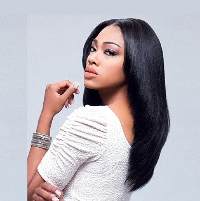 Awesome Morebeauty Natural Long Straight Hairstyles For Black Women Short Hairstyles For Black Women Fulllsitofus