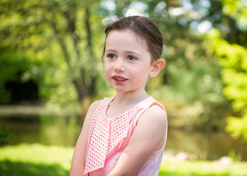 Portrait of a girl in the gardens by Christchurch family photographer Kirsten Naomi Photography | Family Portraits | Lifestyle Photography | Environmental Portraits | Simply Authentic