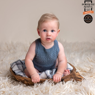 2019 double bronze award winning baby image by Christchurch maternity, baby and family photographer Kirsten Naomi Photography
