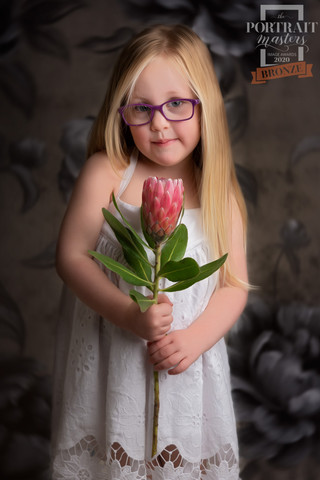 Award winning portrait of a young girl by Christchurch Children and Family Photographer Kirsten Naomi Photography