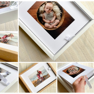 Italian wooden portriat boxes by Christchurch Photographer Kirsten Naomi Photography