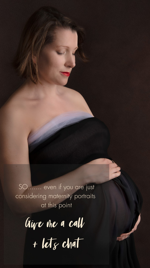 Are you expecting? Get in touch for a chat about your maternity portrait session with  Kirsten Naomi Photography