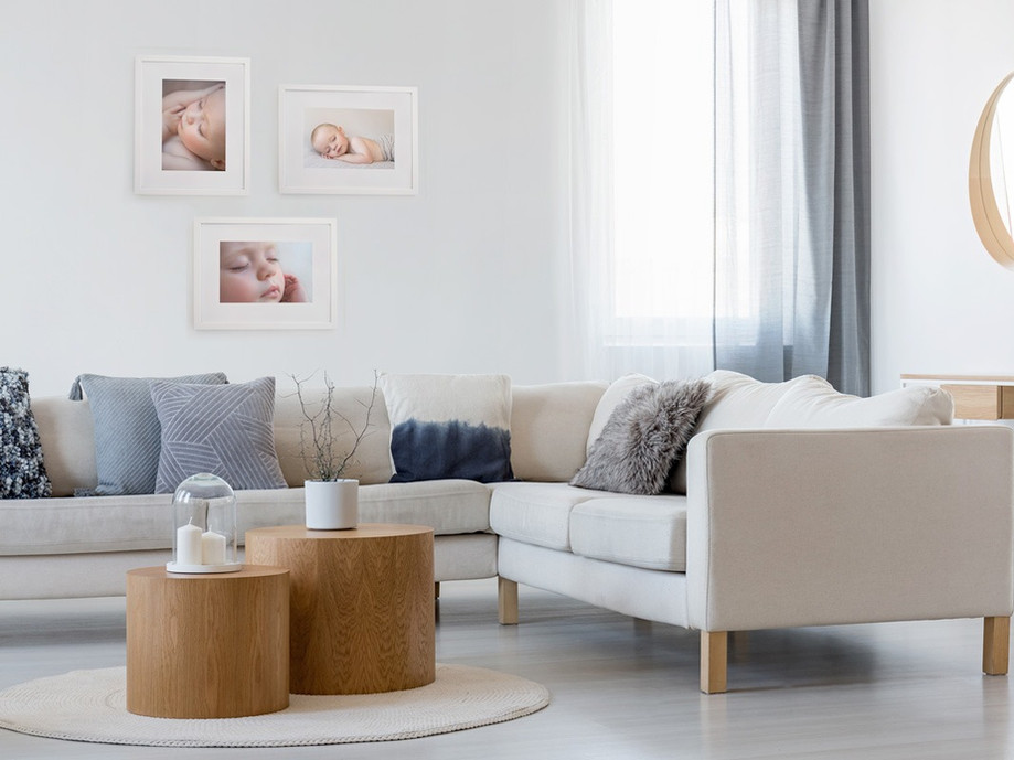 The perfect artwork for your lounge wall by Christchurch Newborn and Baby Photographer Kirsten Naomi Photography