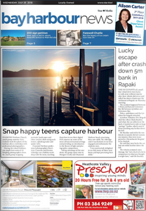 Front page article in the Bay Harbour News talks about the local photography workshop for teenager that was presented by  Kirsten Naomi Photography