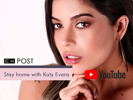 Stay home with Katy Evans.