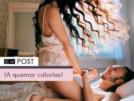 Estas son las posturas sexuales con las que quemarás más calorías.