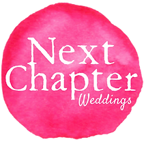 Next Chapter Weddings Logo. Certifed Wedding Planner and Coordinator in Houston. Best Wedding Planner.