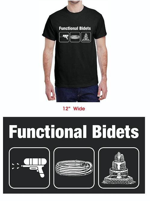 Functional Bidet T-shirts