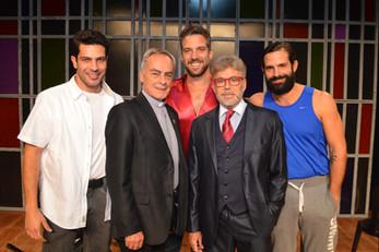 """""""5 homens e um segredo' traz o tema da masculinidade para o palco"""""""