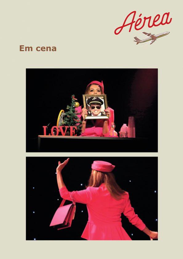 Espetáculo - Aérea com Patricia Travassos.