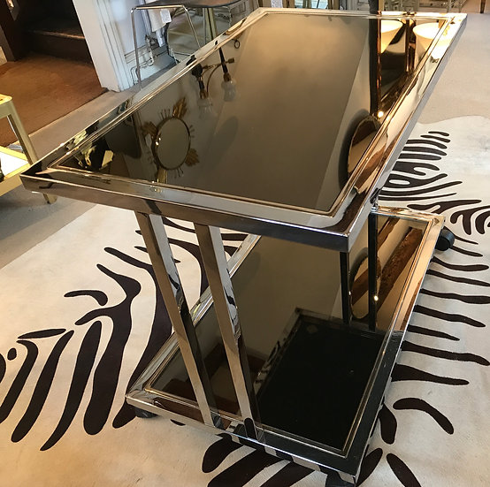 BelgoChrom Trolley with 23Carat gold plating