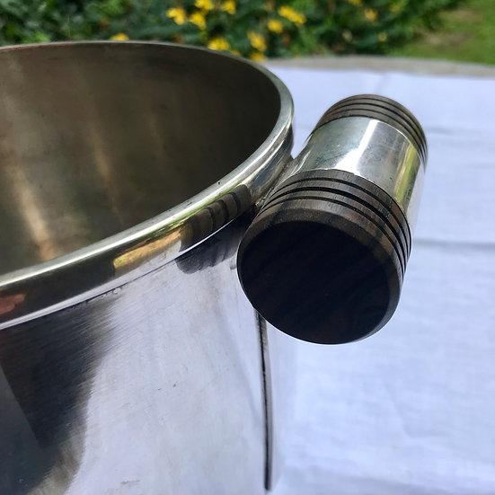 1930s Steel Champagne Bucket.