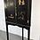 Thumbnail: English Corner Cabinet Chinese Style 1920s
