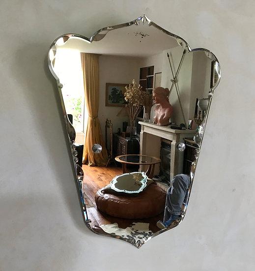 Fleur de Lys Mirror