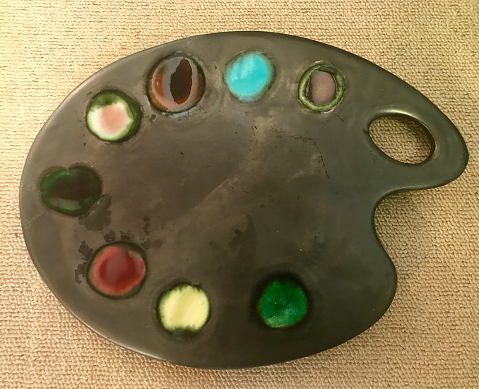 Vallauris Pottery Palette