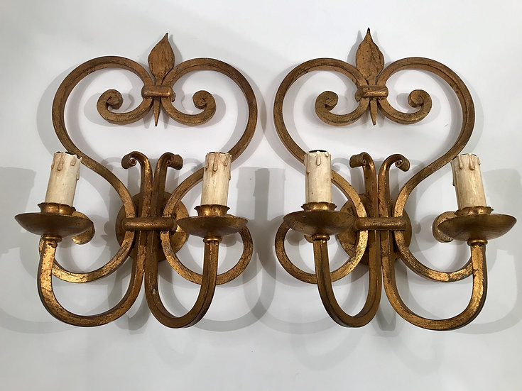 Gilded Wrought Iron