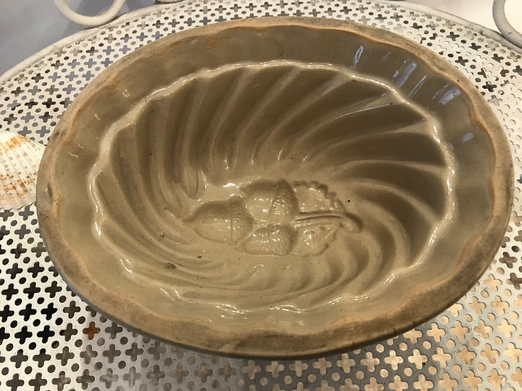 Acorn Pattern Jelly Mould