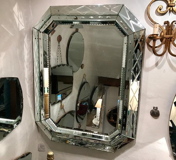 Venetian-Style Triple Mirror