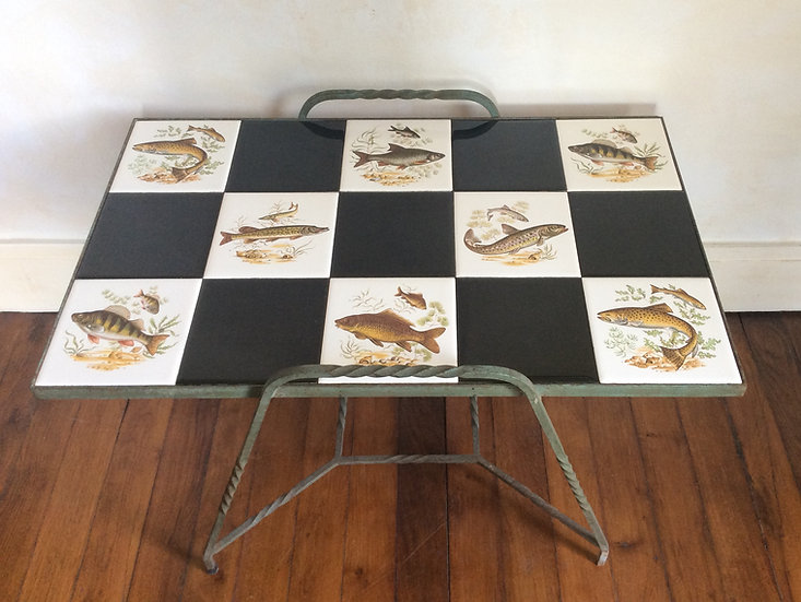 Ceramic Tiled Coffee Table