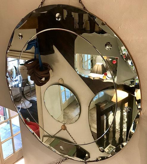 Round Retro Mirror