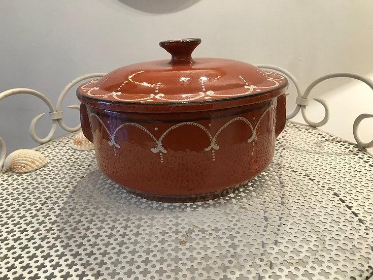 Glazed Terracotta Pottery Alsacien