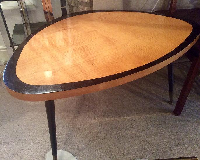Three-Lobed Epitrochoid Table in Satin Birch