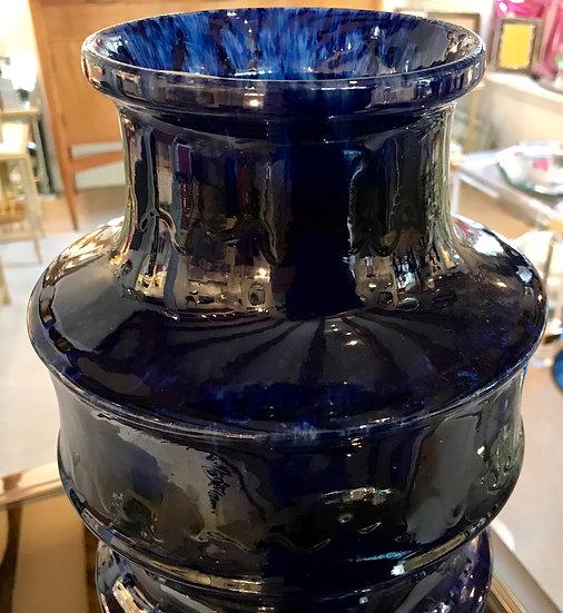 Blue Scheurich Vase