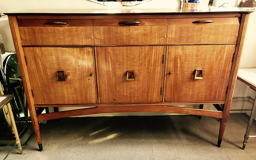 Continental Satinwood High Sideboard