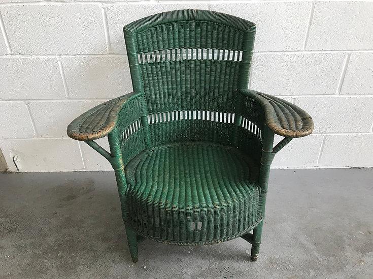 Green Lloyd Loom Chair
