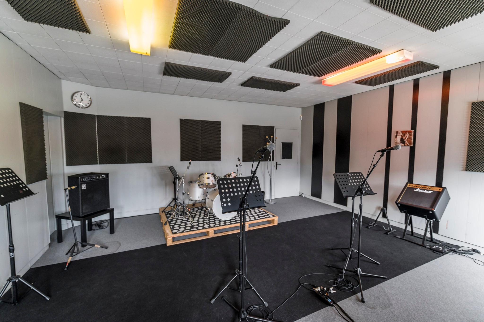 """""""Stripes"""" Studio de répétition"""