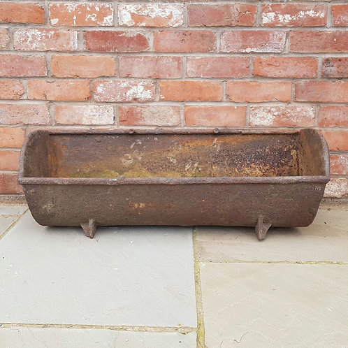 Cast Iron Pig Trough Planter