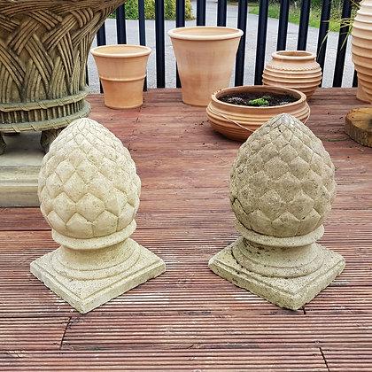 Pair of Pineapple Finials
