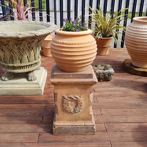 Terracotta Plinth