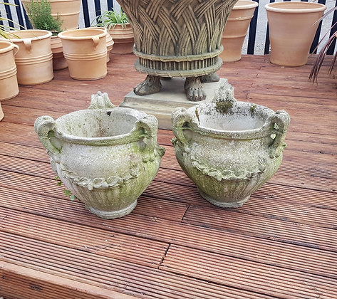 Pair of Classical Stone Planters
