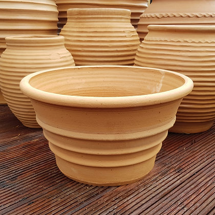 Low, Wide Cretan Terracotta Planters