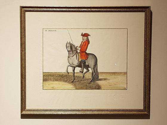 Set of 19th Century Dressage Prints