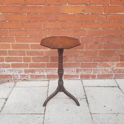 19th Century Elm Topped Wine Table