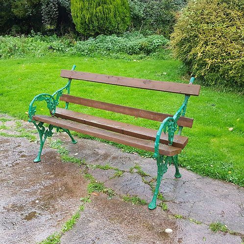 Falkirk Iron Foundry Cast Iron Bench