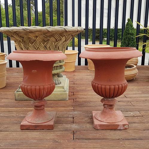 Terracotta Campana Urns
