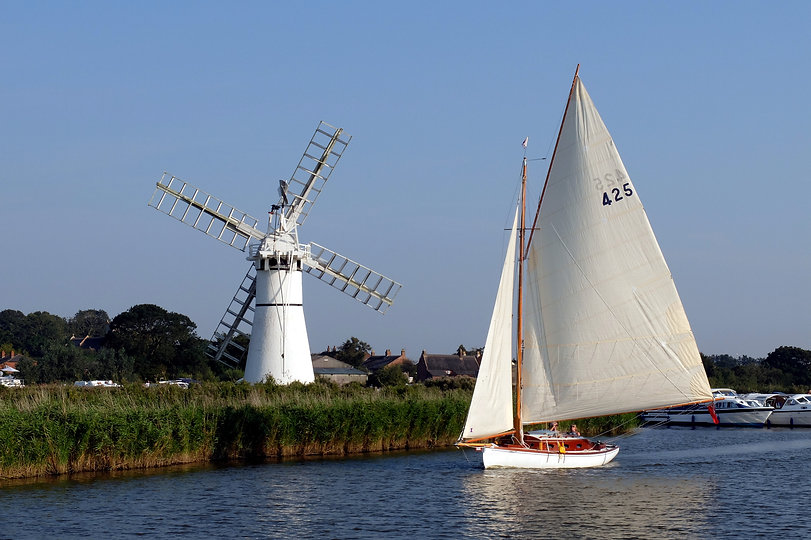 Norfolk Broads - Boating