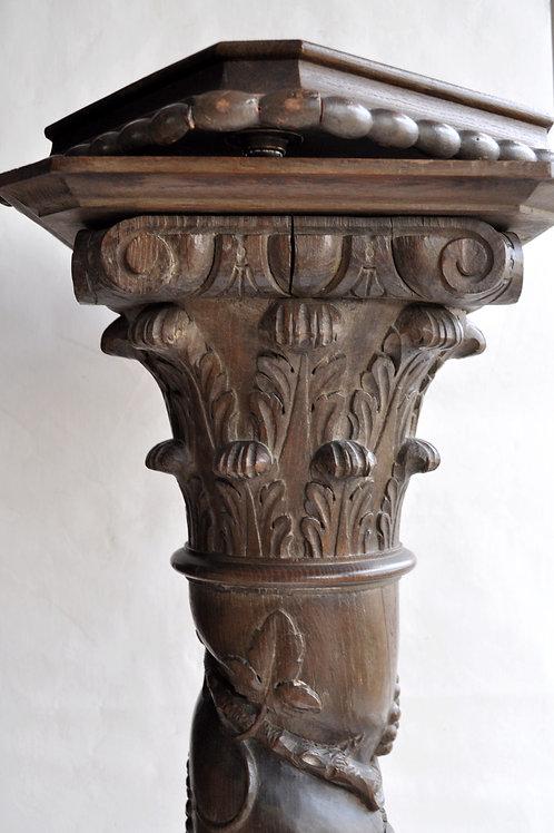 Colonne Torsadée - Chapiteau corinthien - XVIIème