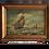 Thumbnail: Huile sur toile - Marine - XIXème
