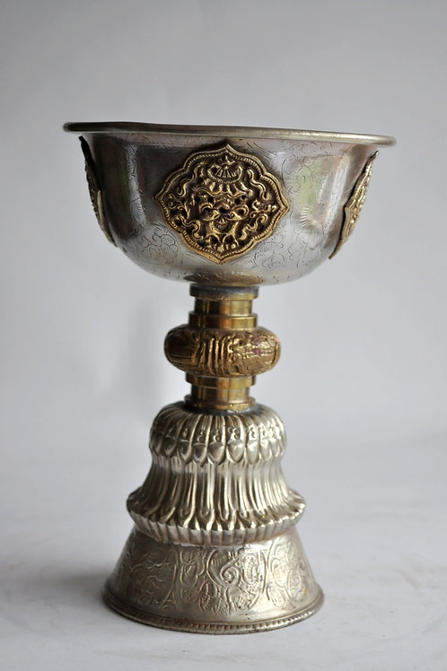 Chalice - brass cup - India circa 1900