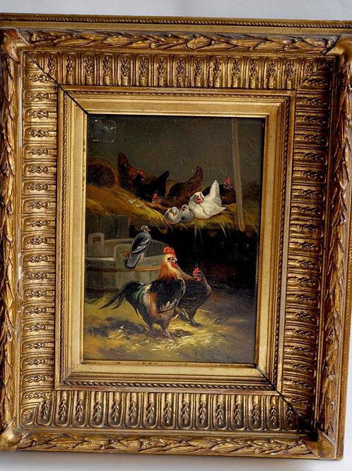 Joseph Louis Van Leemputten (1841-1902) - The Lower Court