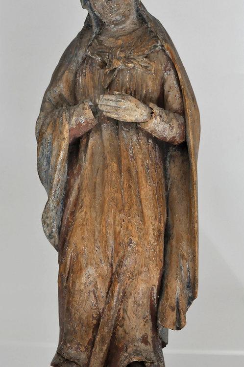 Sculpture Polychrome - Bois - Circa 1800