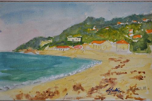 Louis Charles AUBREE (1906-1991) - Aquarelle - XXème